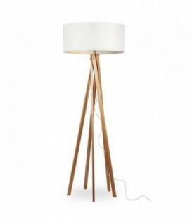 RINGO Lamp -Beech Wood- -White