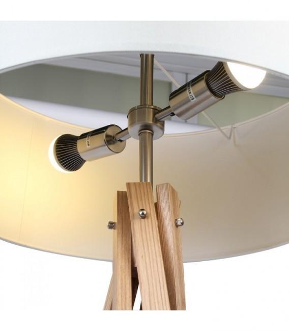 RINGO Lamp -Beech Wood- -White