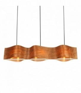 Lampe TRIPANELO -Buchenholz--Beech