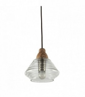 Lampe SWERM 2 Buchenholz-Clear glass