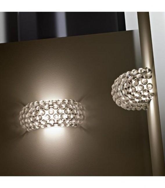 Lampe DRON -Wandleuchte--Transparent Inspiración Caboche de Patricia Urquiola & Eliana Gerotto