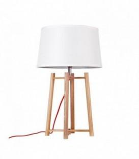 Schreibtischlampe ARCO 2 Buchenholz-White