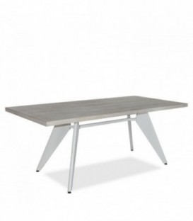 TRADDO 190 Dining Table -Vintage--White