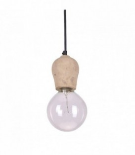 Lampe PORLA -Zement--Cement