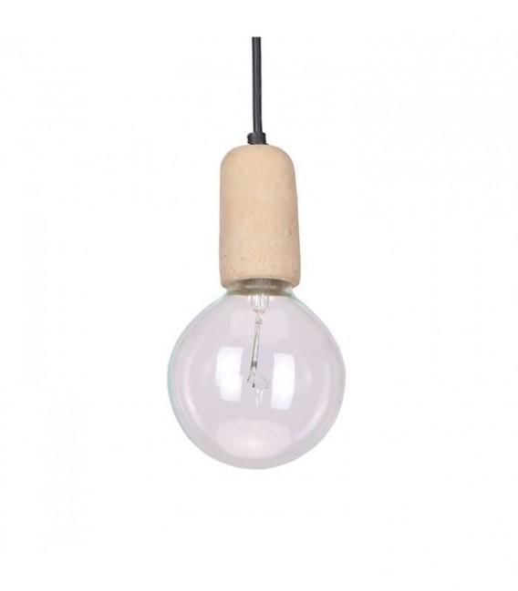 Lámpara SLIMED -Cemento--Cemento