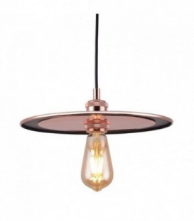 DISC Lamp-Pink gold