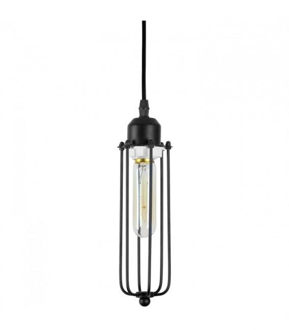 Lámpara EDIE CAGE -Vintage--Negro