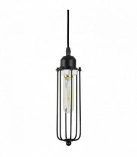 EDGE CAGE - Lampe vintage - Noir