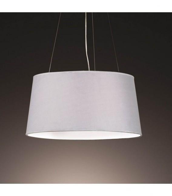 Lámpara LAHORE-Tela gris