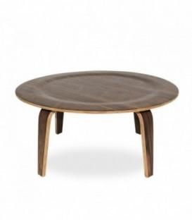 PLYWOOD NOGAL Table-Walnut Inspiración Eames Plywood Table de Charles & Ray Eames