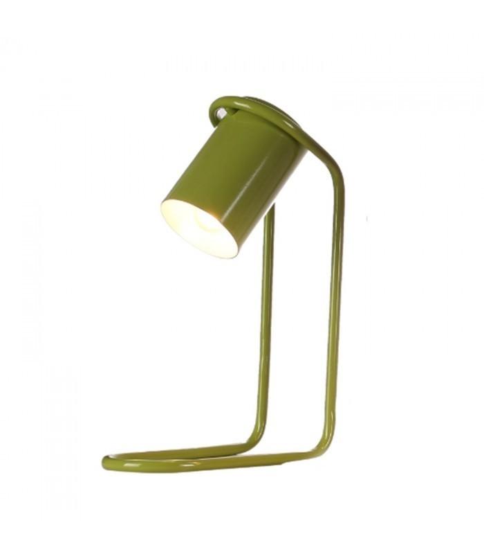 Lampada da tavolo urban verde mobelium for Lampada da tavolo verde