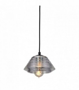 RIGGELS 3 Lamp -Suspension--Clear glass