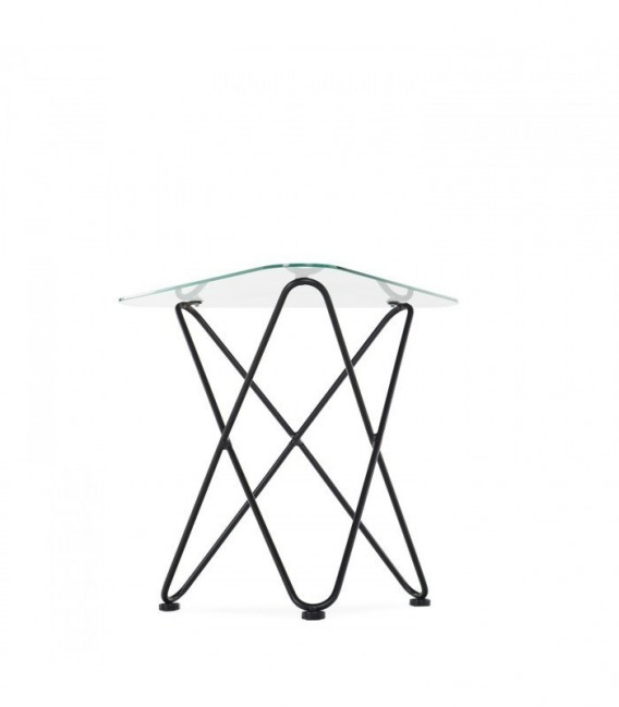 BUTTERFLY Table -Clear Edition--Clear glass