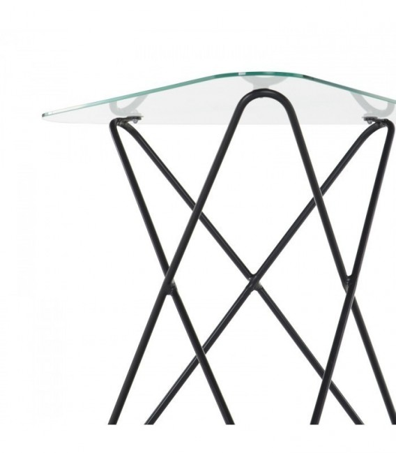 Mesa BUTTERFLY -Clear Edition--Cristal transparente