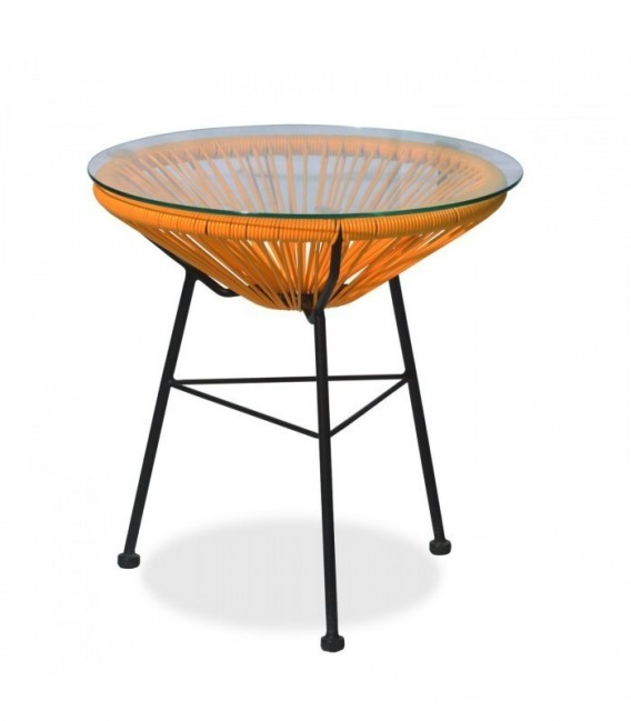 MEXICO CONE Coffee Table-Orange