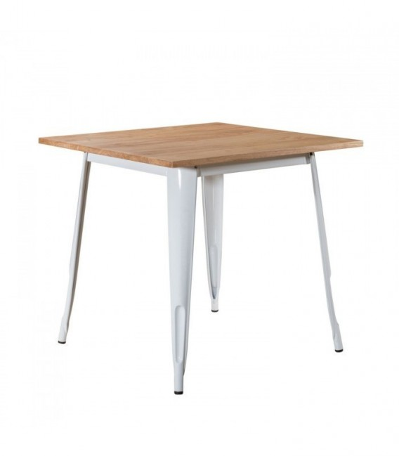 MOSKVA WOOD Table-White