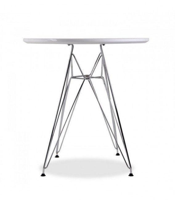 TENDAR SMALL Table-White Inspiración dsr de Charles & Ray Eames