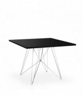 Table SQUARED TROUGH-Black DSR Inspiration de Charles & Ray Eames
