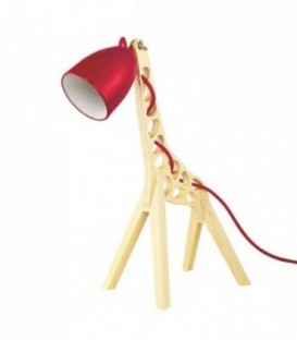 GIRAFFE Lamp-Red