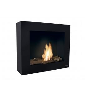 Wall Bioethanol Fireplace Black BESTBIO AF-BB