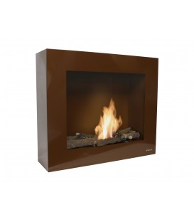 Wall Bioethanol Fireplace Brown Limited Edition BESTBIO-M