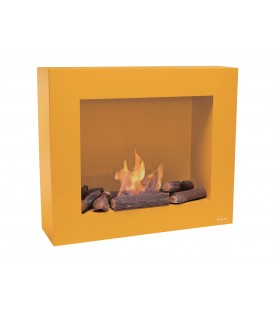 Wall Bioethanol Fireplace Light Ocher Limited Edition BESTBIO-O