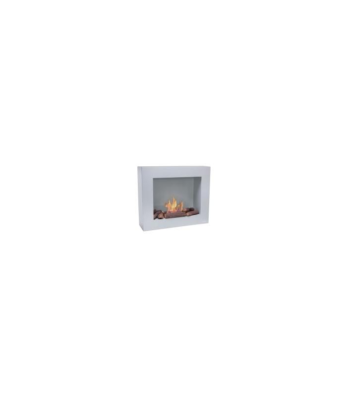 Biochimenea de pared color gris claro Limited Edition BESTBIO-G