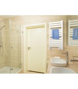 Radiador toallero eléctrico aluminio color blanco NTW-10 de PURLINE
