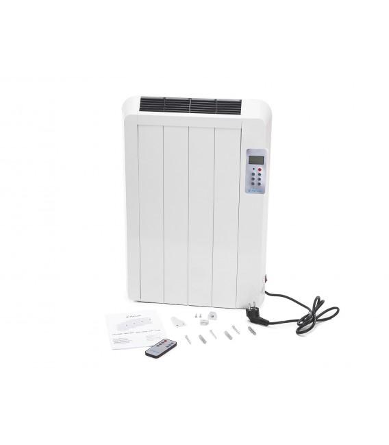 Emisor térmico digital sin fluido de 600 W con mando a distancia