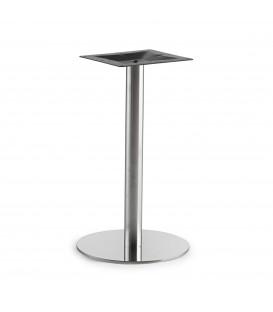 Tischfuß ROUND-Stainless steel