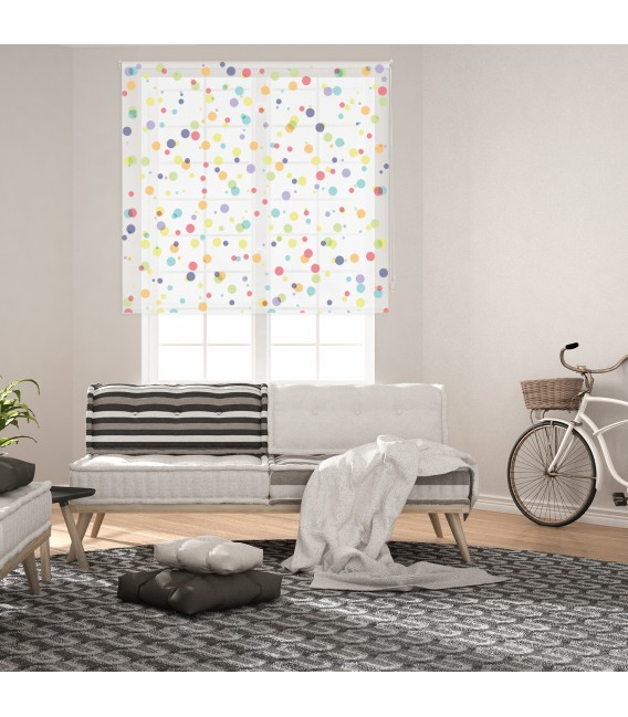 ROOM SPOTS PRINT ROLLED STORE