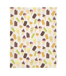 KITCHEN ICE-CREAM PRINT ROLLED STORE
