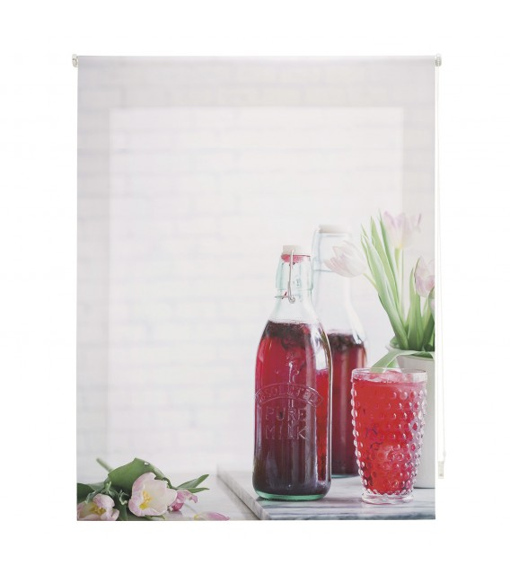 KITCHEN JUICE PRINT ROLLED STORE