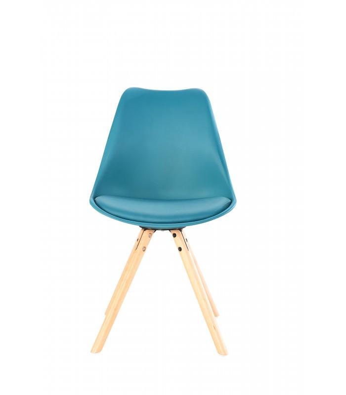 Stuhl schwarz mit holzbeinen gallery of mbel lila hocker for Stuhle mit holzbeinen