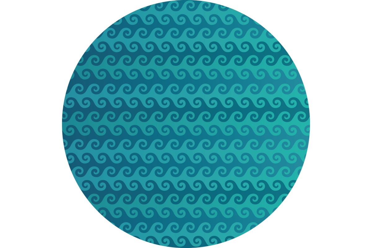 VINYL CARPET ROUND SHAPE