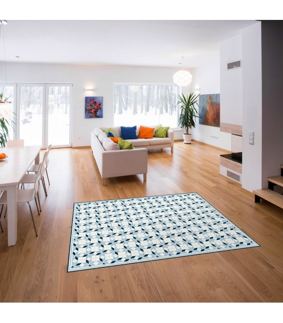 VINYL CARPET GREAT GEOMETRIC FORMAT