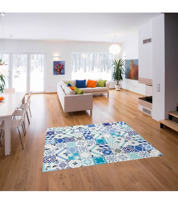 VINYL CARPET GREAT PATCHWORK FORMAT