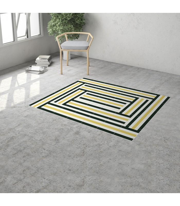 moderner vinyl teppich mobelium. Black Bedroom Furniture Sets. Home Design Ideas