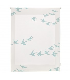ROOM BIRDS PRINT ROLLED STORE