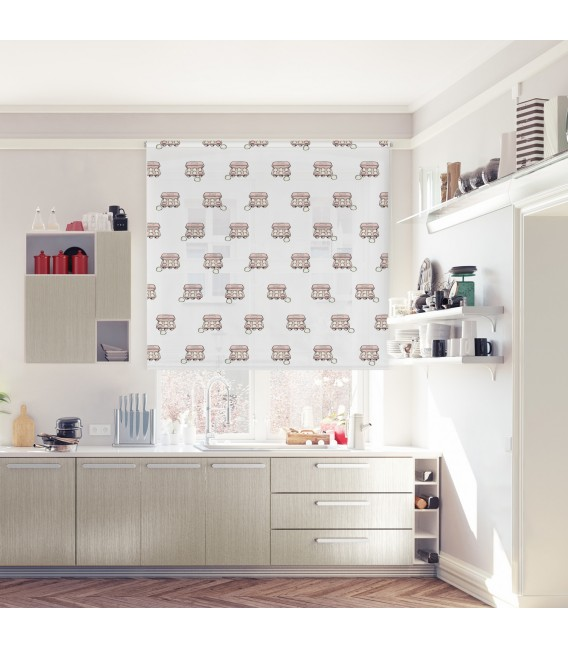 KITCHEN OVAL PRINT ROLLED STORE