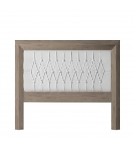BETTKOPFTEIL PRAGA 135 CM CAMBRIAN/WHITE