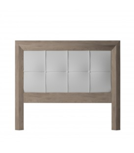 HEADBOARD ROMA 135 CM CAMBRIAN/WHITE