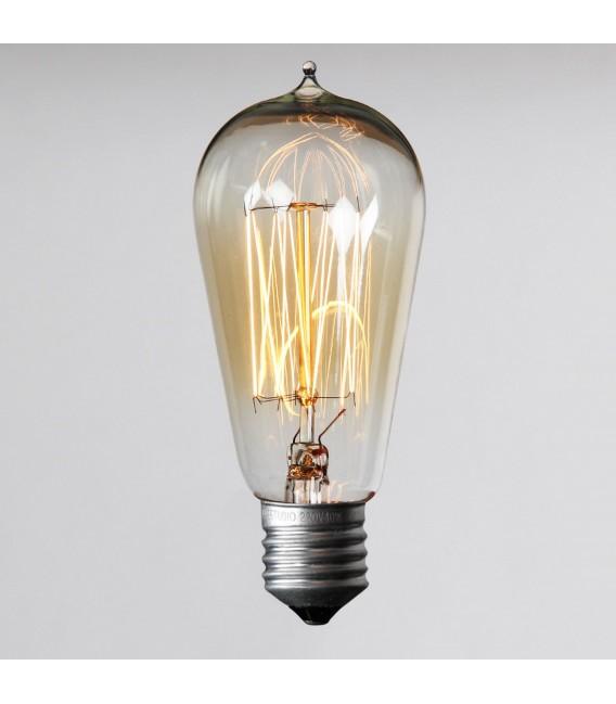 Lampadina EDISON 13-CLEAR Vintage ST58 E27 40W