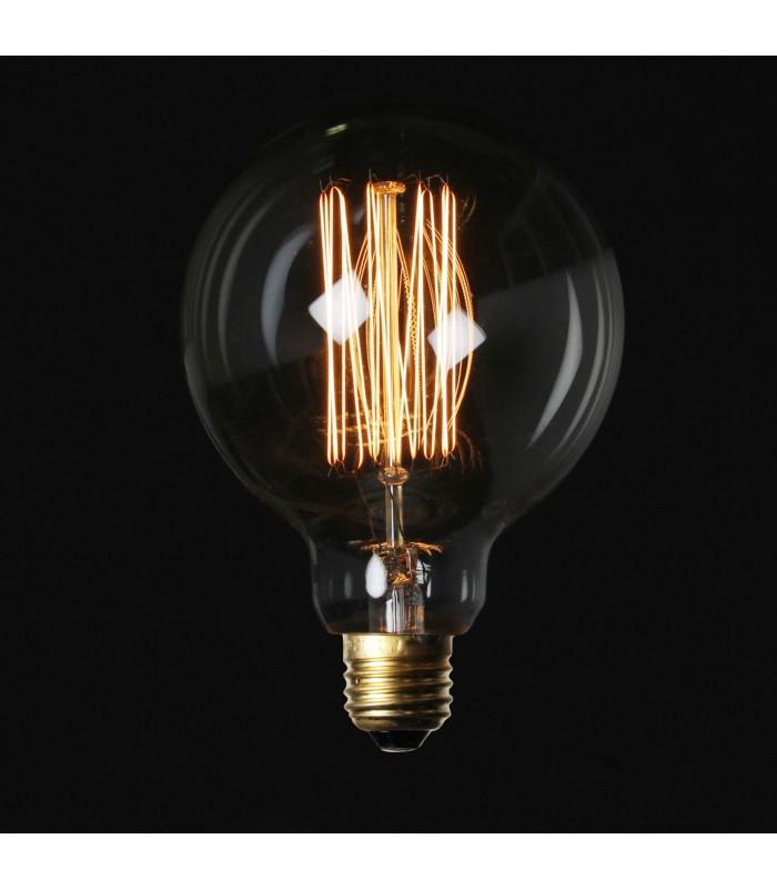 ampoule vintage edison buuble e27 40w mobelium. Black Bedroom Furniture Sets. Home Design Ideas