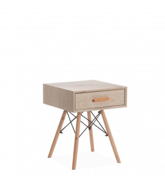 WOODEN Bedside Table -Drawer-