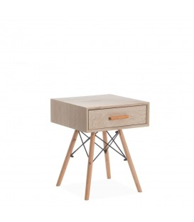 Table de Chevet WOODEN -Tiroir-