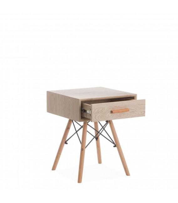 WOODEN Bedside Tavolo -Drawer-
