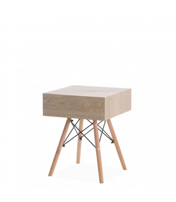 Comodino in legno -Disegna-