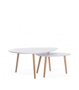 Tavolino SPIKE -Set di 2 tavoli-