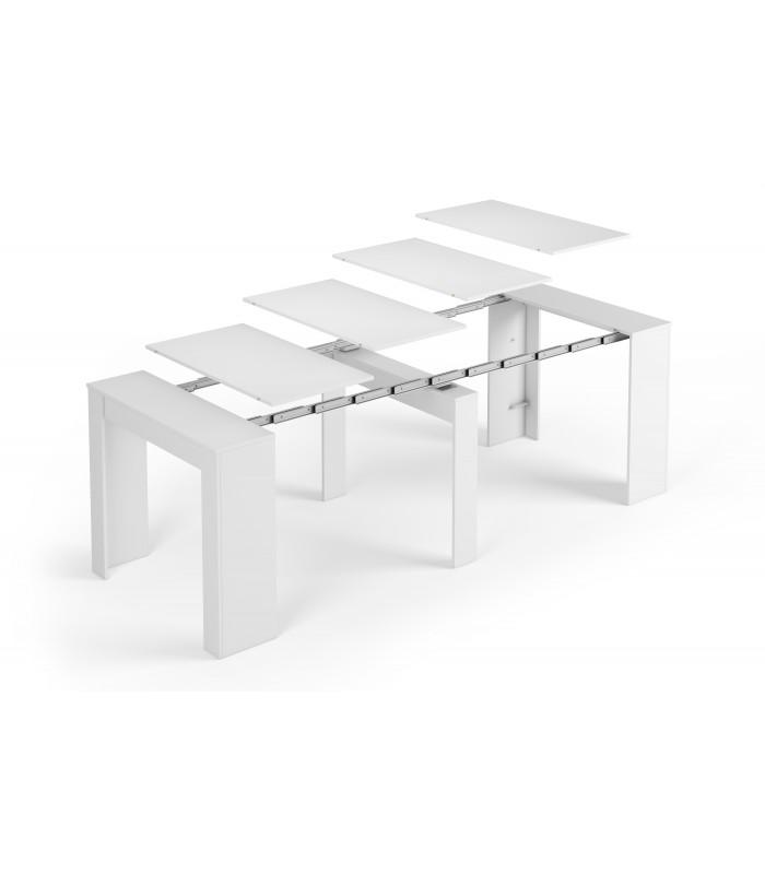 mesa comedor extensible brillo